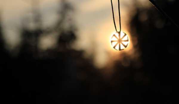 Амулет на солнце