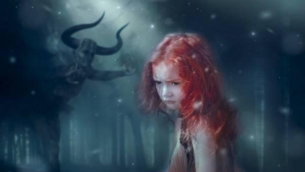 Девочка и демон