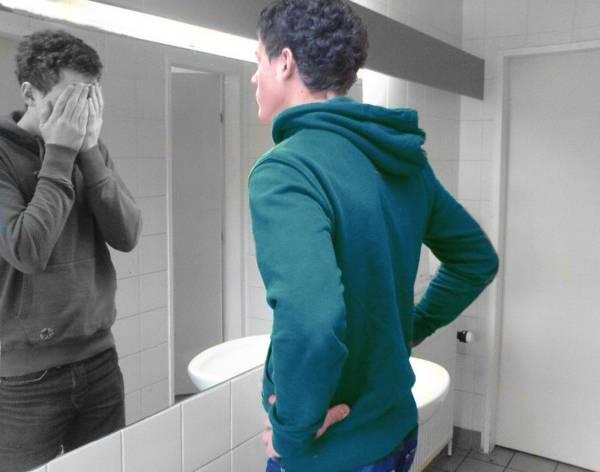 Человек зеркало