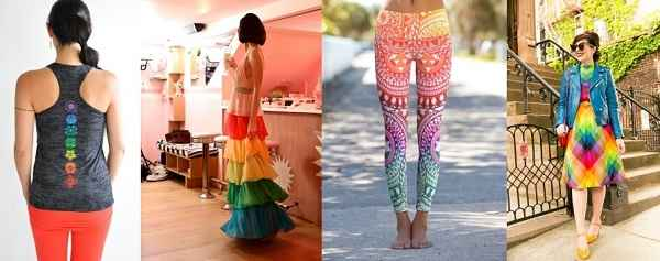 разноцветная одежда