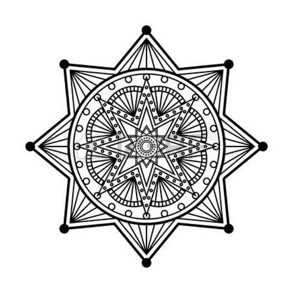 звездная мандала