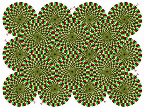 обман зрения круги