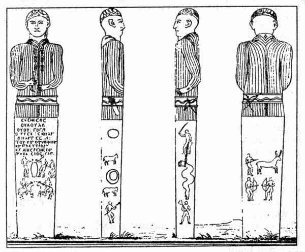 зарисовка памятника