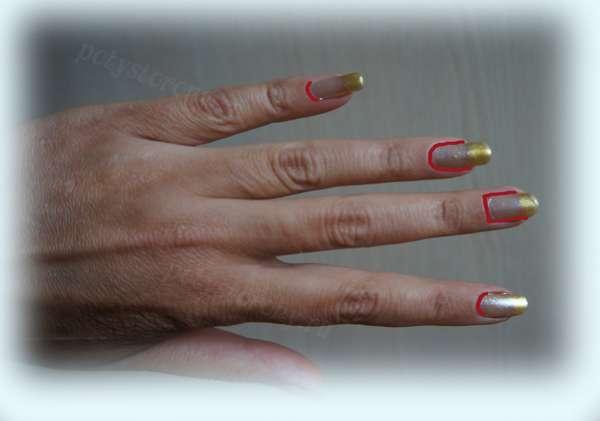 разные формы ногтей