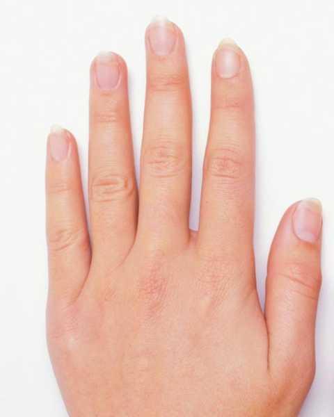 рука пальцы просветы между пальцами