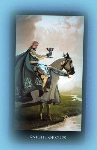 рыцарь кубков колода таро ведьм