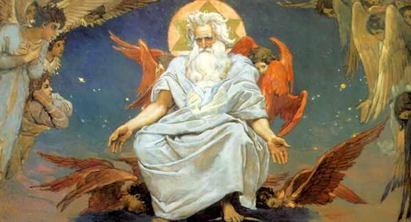 Бог и херувимы