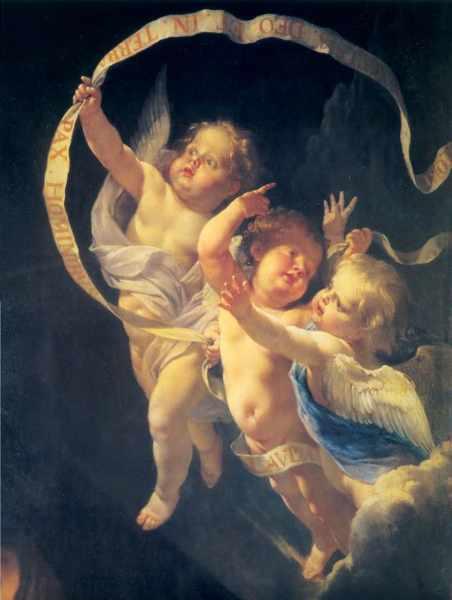 херувимчики ангелы