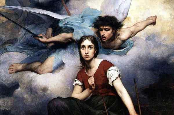 Явление архангела Михаила Жанне Д'Арк,