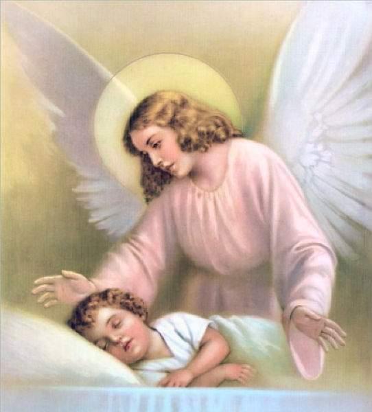 ребенок и ангел