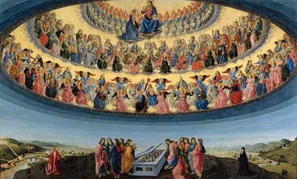Успение Пресвятой Богородицы картина