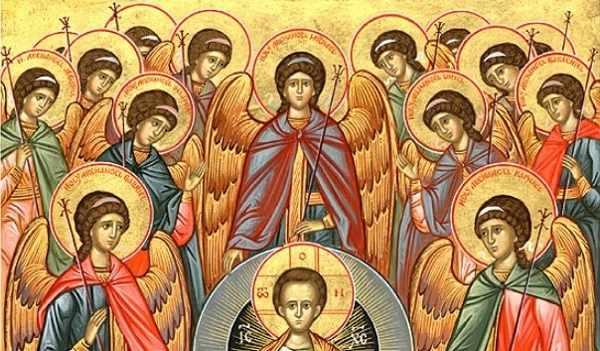 бог и архангелы