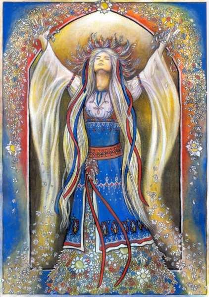 изображение богини лада