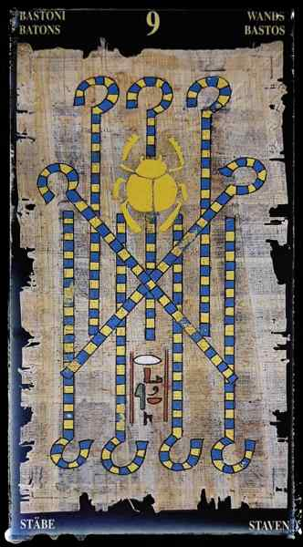 9 жезлов египетское таро