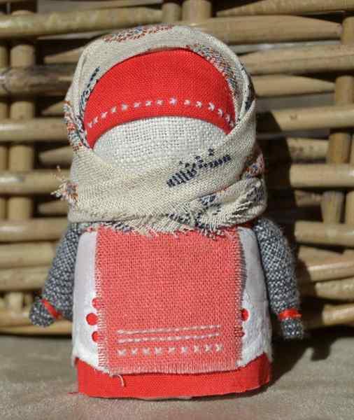 оберег кукла зерновушка