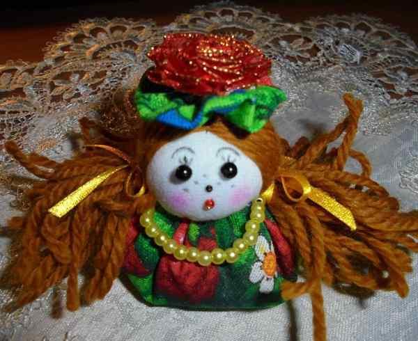вальдорфская кукла оберег